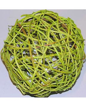 Green Decorative Balls Curly Willow Decorative Balls  Basil  Curly Willow And Craft