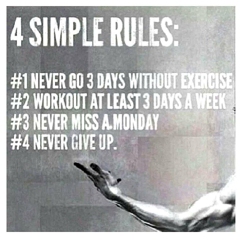 Never Miss A Monday Workout Meme