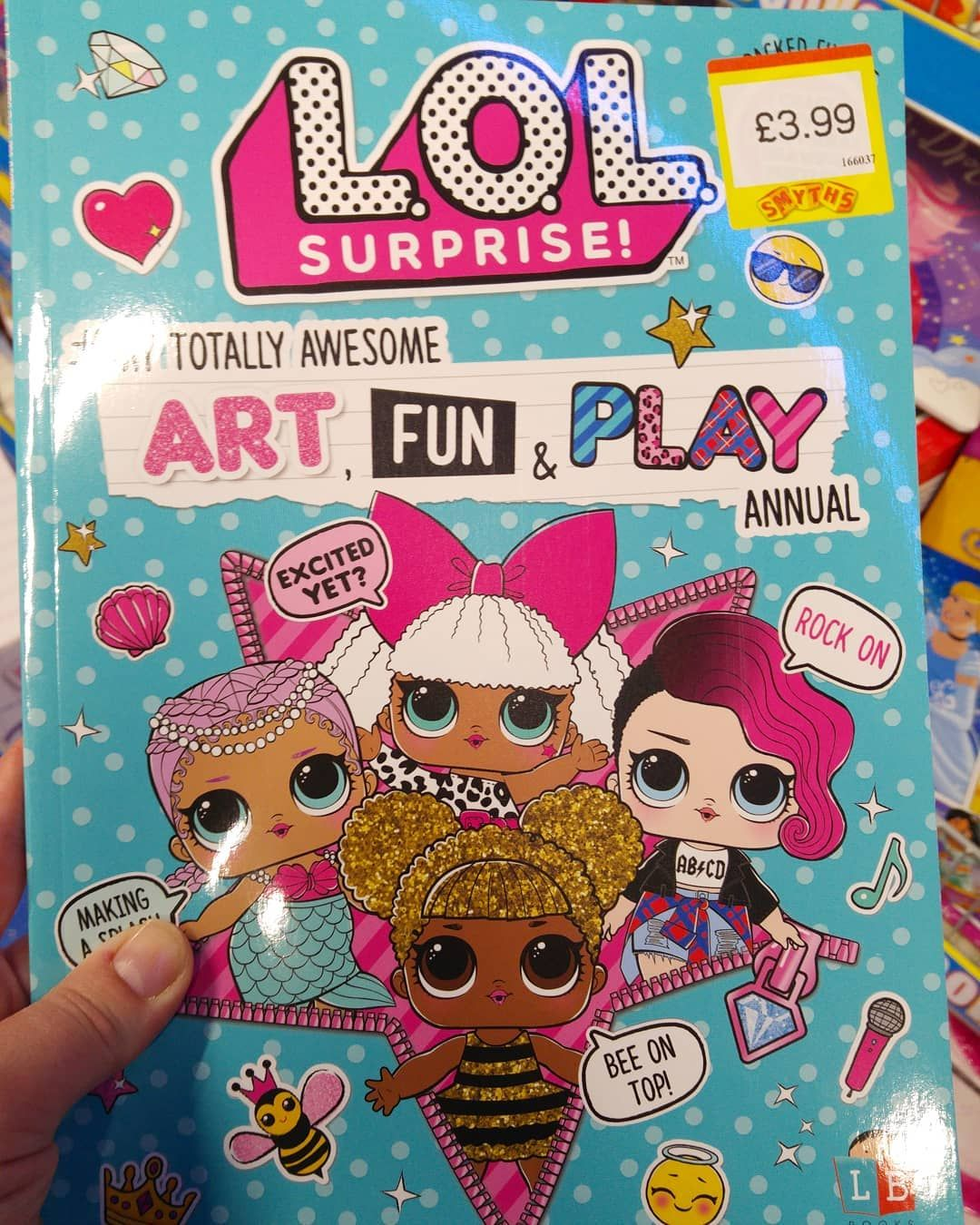 Awesome Lol Activity Book Lolsurprisedolls Lolsuprise Loldoll Book Surprise Activity Fun Kids Coloring Colouring Smyt Lol Lol Dolls Book Activities