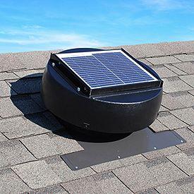 Us Sunlight Solar 150sq Ft Ventilating Solar Attic Fan Solar