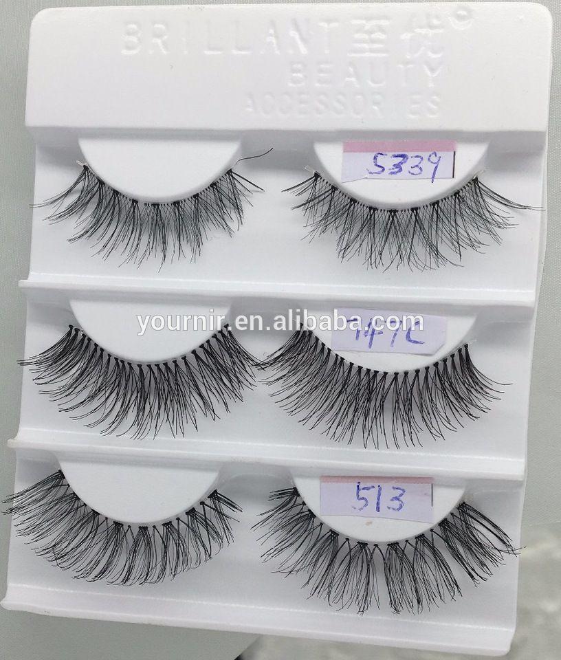 Top Sellers Eyelashes Wholesale 100 Human Hair Eyelashes Human Hair