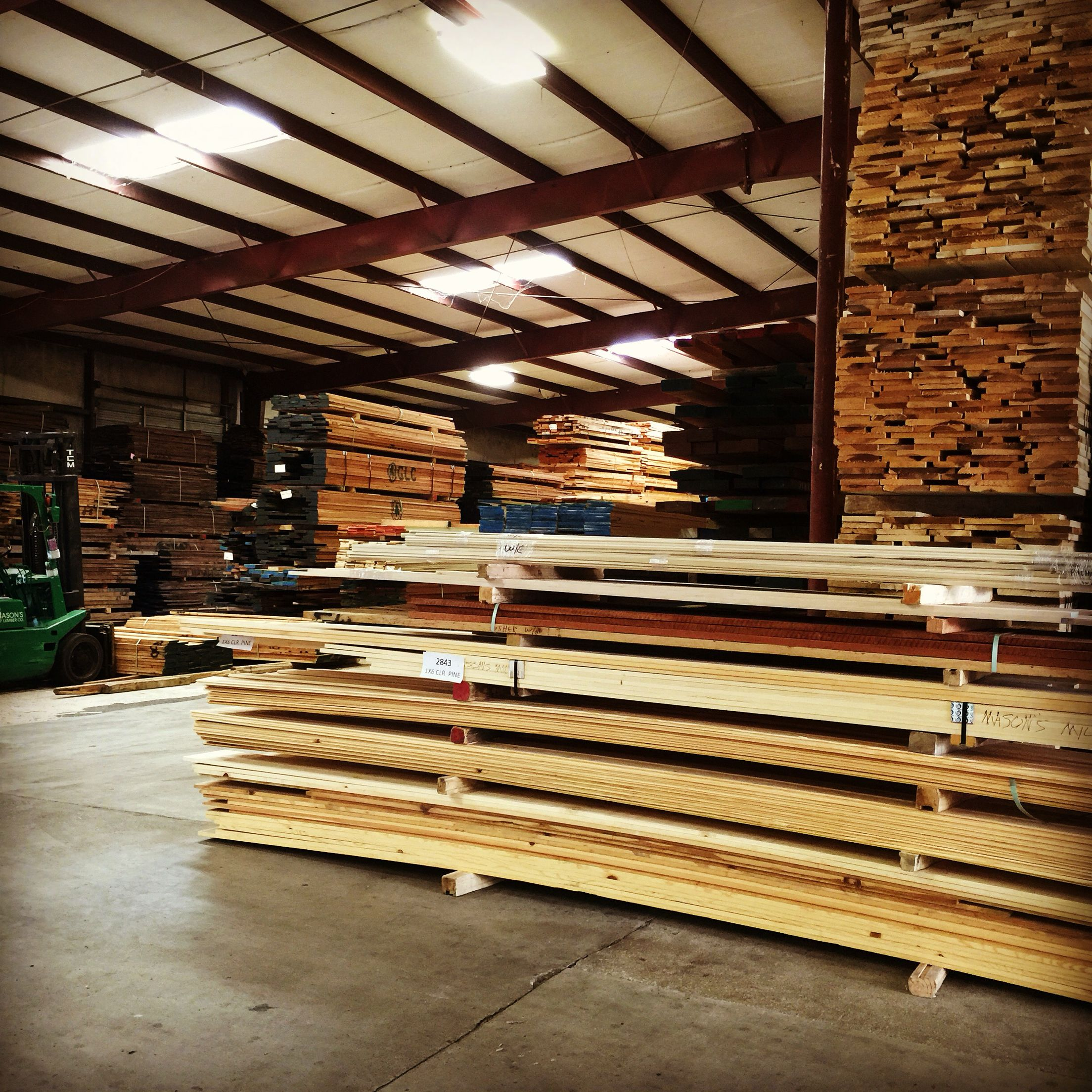I was at the lumber yard earlier picking up some ash wood.  #wood #woodworking   #woodworker #woodshop #lumberyard #roughlumber #ashwood