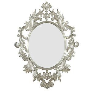 Kenroy Home Louis Wall Mirror in Silver Leaf