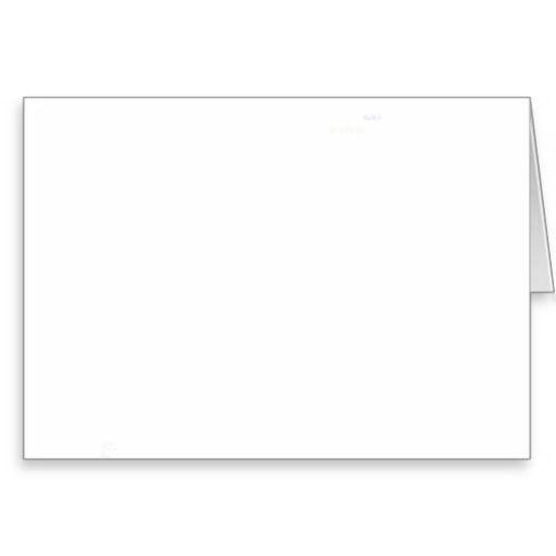 microsoft blank greeting card
