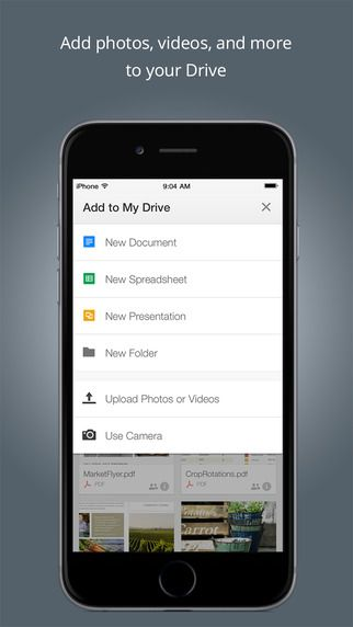 These Apps Will Make You the Master of Productivity Drive app - spreadsheet app for iphone 6