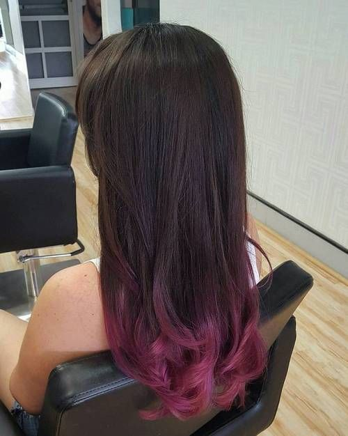 40 Vivid Ideas For Black Ombre Hair Dip Dye Hair Black Hair Ombre Ombre Hair Color