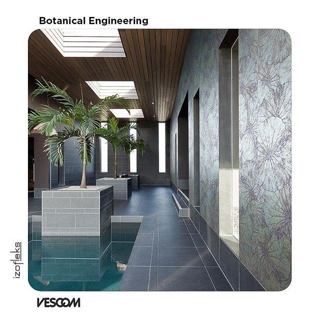 Reposting izofleks vescom vescom turkiye textile wallcovering design botanical engineering tekstil duvar