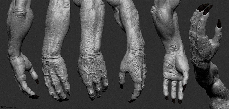 monster hand by Majid Esmaeili