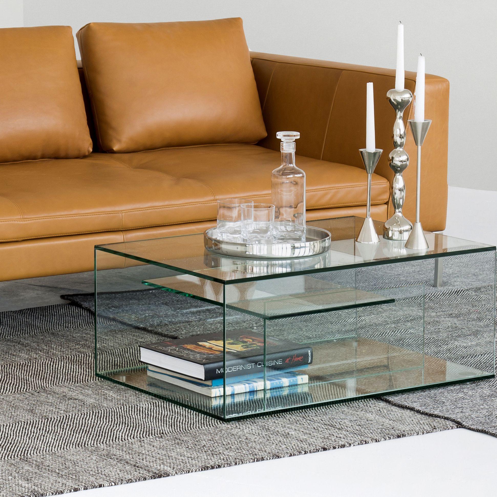 gem table basse en verre trempe table