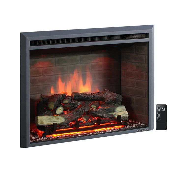 Electric Fireplace Insert, Cozy Grate Fireplace Heater Reviews
