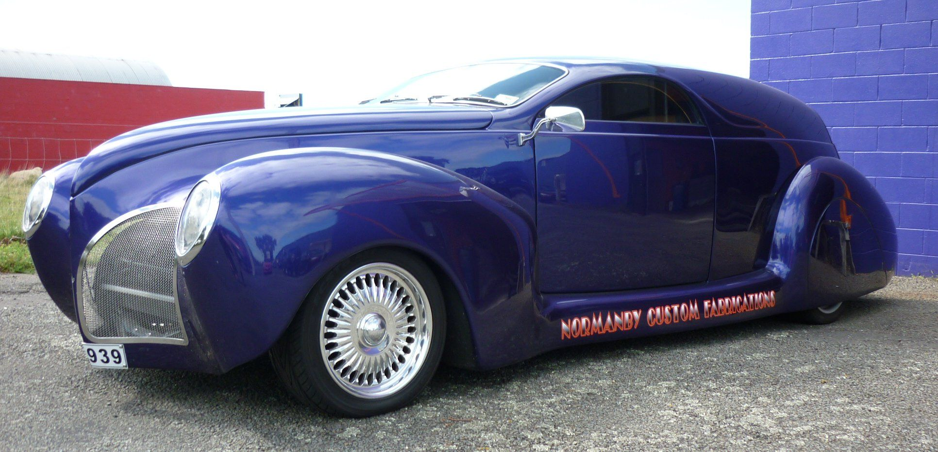 1939 lincoln zephyr delivery