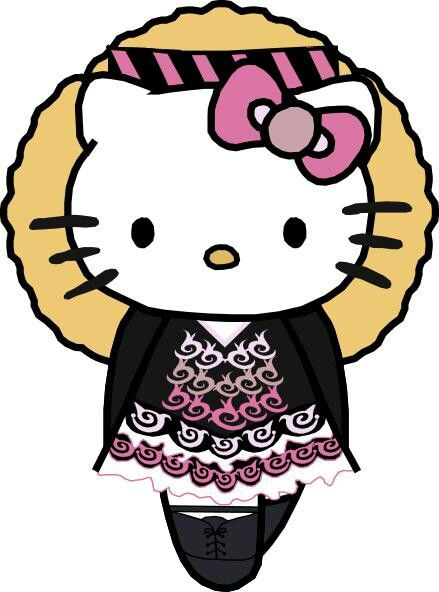 Irish Dance Hello Kitty She S A Blonde Hello Kitty Characters Hello Kitty Wallpaper Hello Kitty Collection