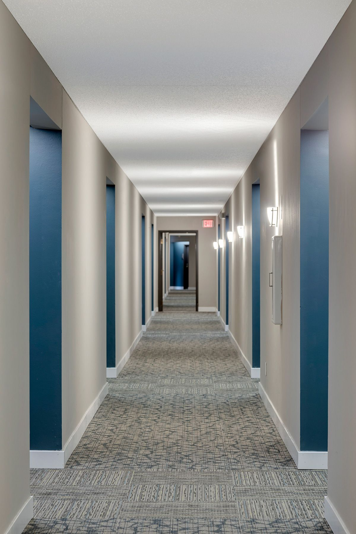 Image result for nyc apartment building hallway  Apartment
