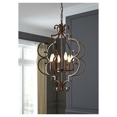 Kanab Pendant Light Antique Copper (Brown) Finish - Signature Design by Ashley