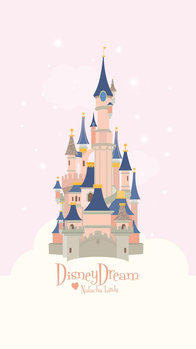 Disneyland Castle Iphone Wallpaper Pink Fondo De Pantalla