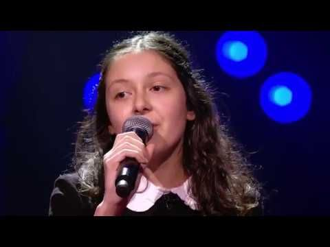 Raphaella Faded Blind Auditions The Voice Kids Vtm Met