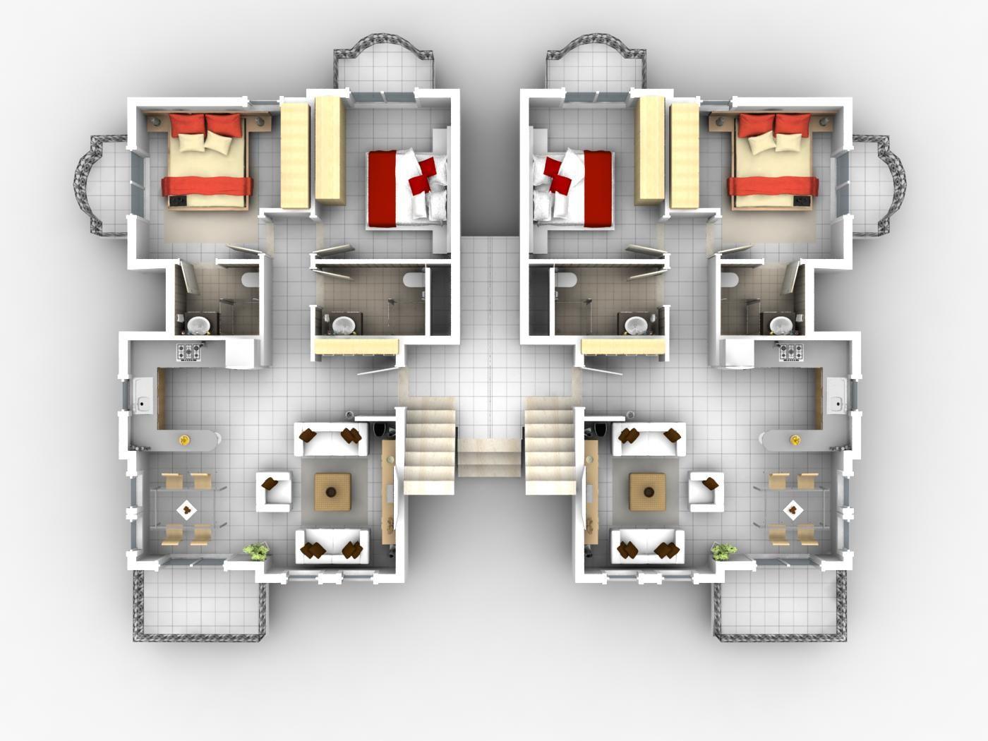 Architecture Rome Apartments Floor Plans