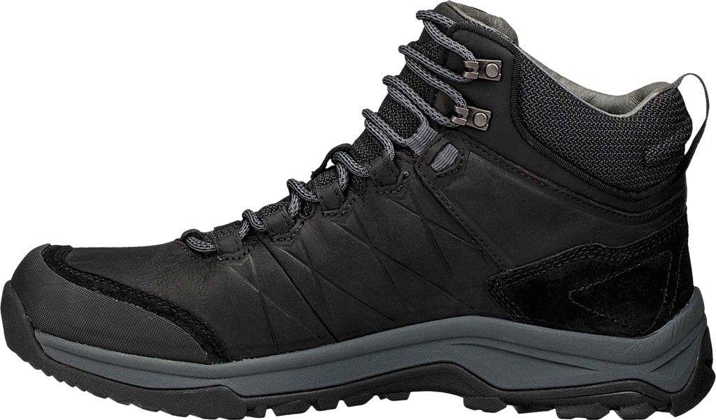 b836e663d Teva Arrowood Riva Mid Wp Hiking Boot - Black Leather Men s 7 in ...