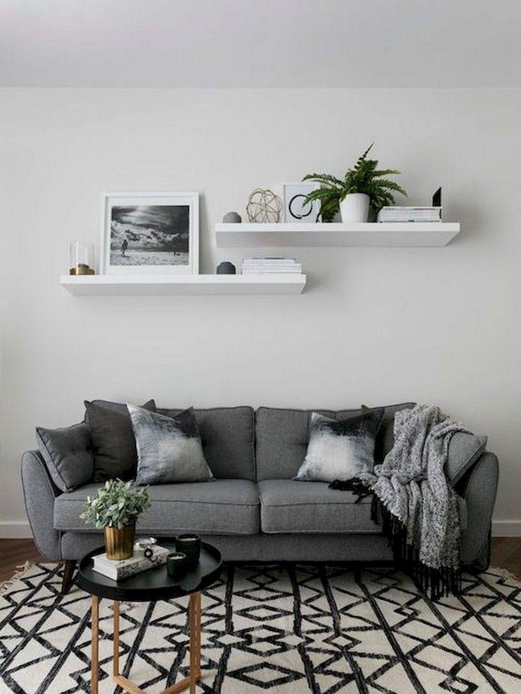 80 Admirable Living Room Decor Ideas Monochrome Living Room Monochromatic Living Room Living Room Decor Apartment