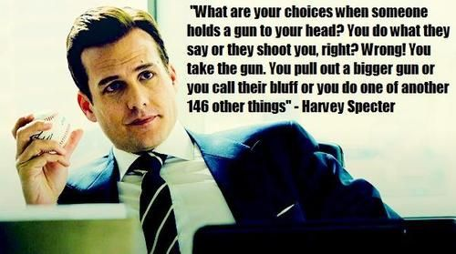 Harvey Specter from Suits
