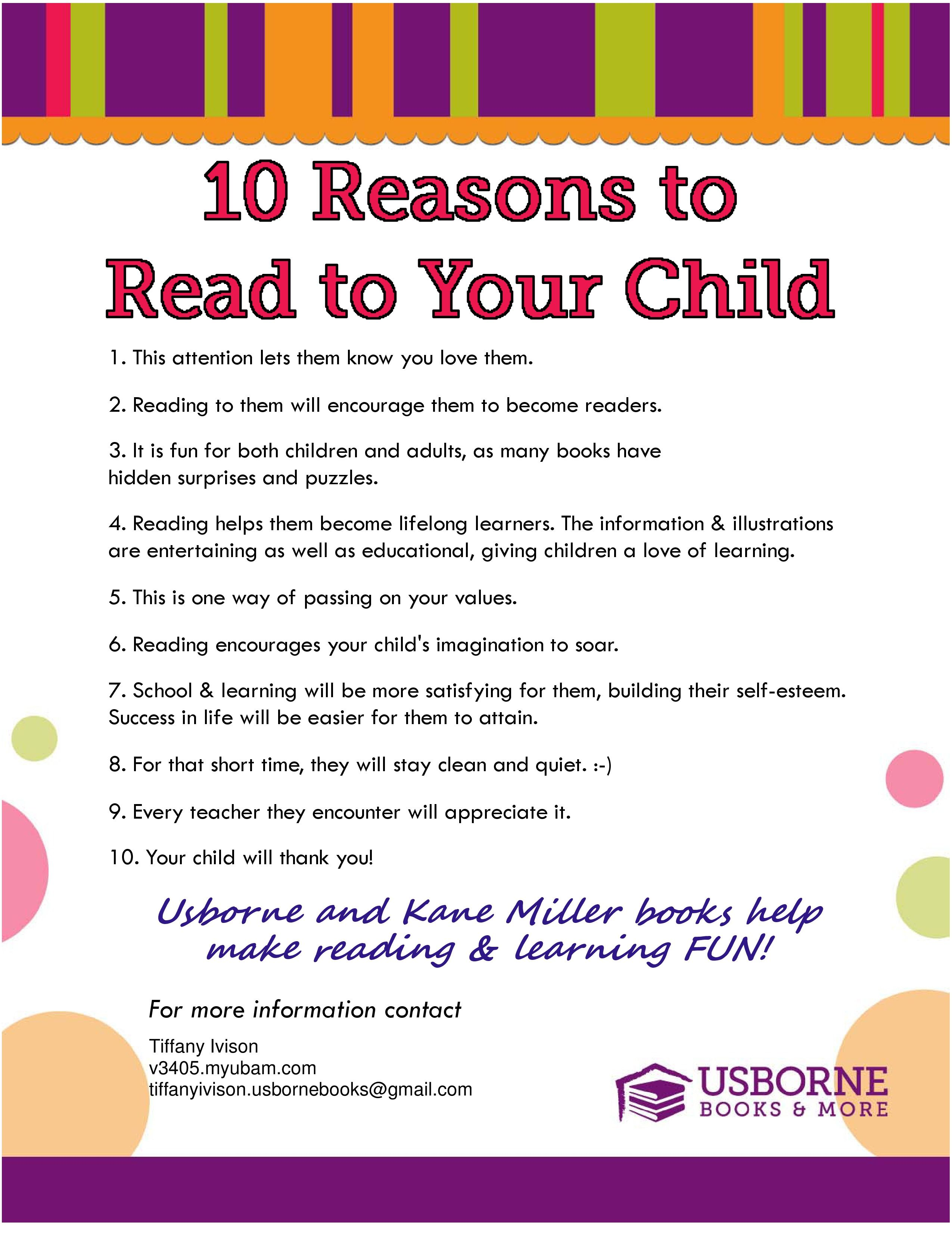 Why Reading Is So Important For Children - Child