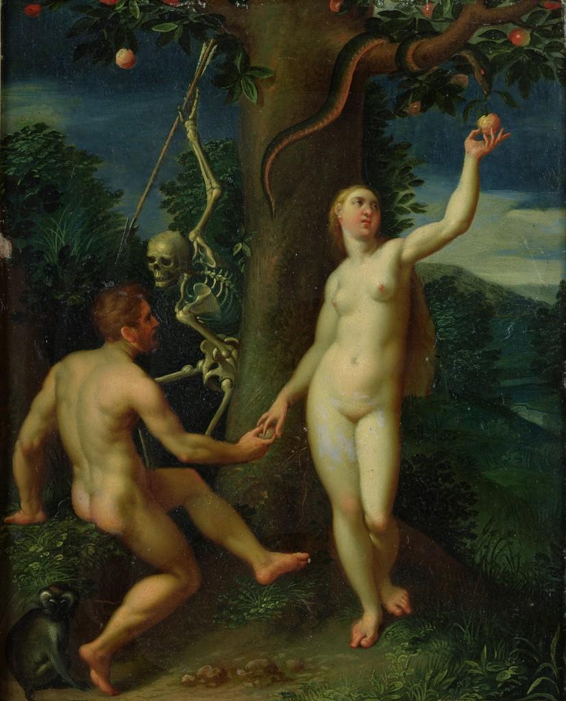 adam and eve by hans i or johann rottenhammer circa 1600