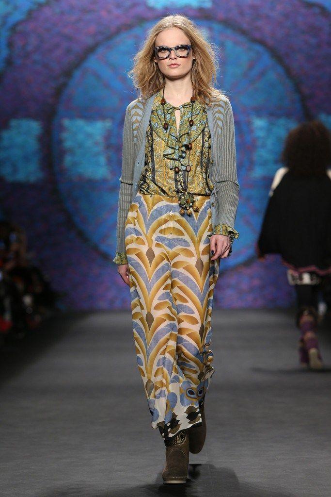 Anna Sui RTW Fall 2015