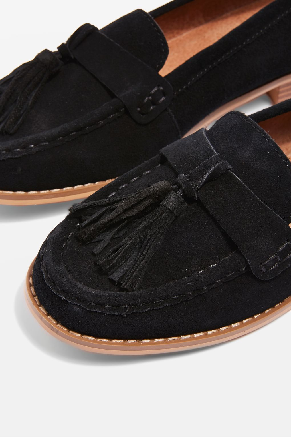 a1e3a7403b5 LILY Suede Tassel Loafers