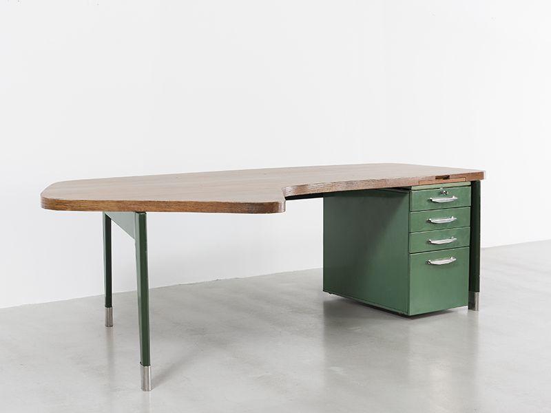Bureau Prsidence n 20 ca 1955 de Jean Prouv Galerie Patrick