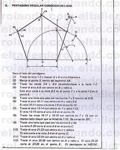 Trazado De Lineas Y Figuras Geometricas 23 Copia Clases De Dibujo Pentagono Geometria Geometria