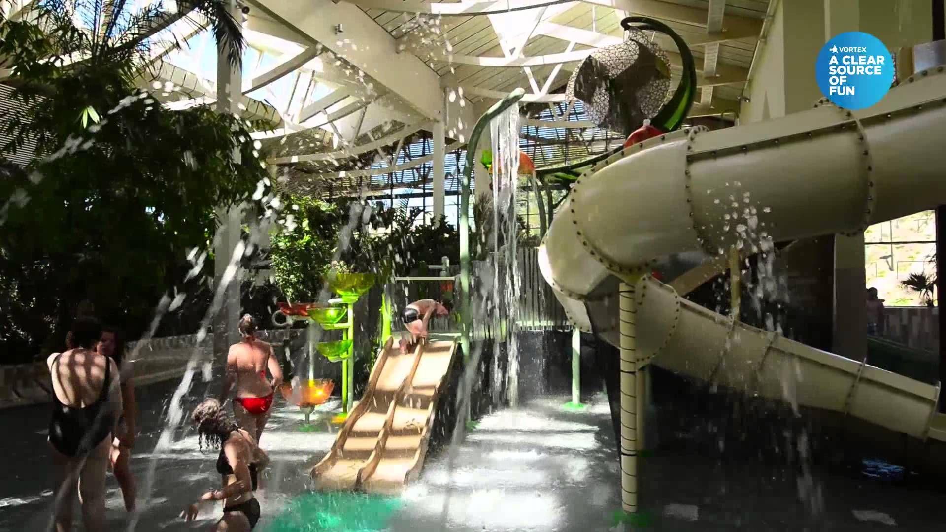 Vortex Centerparcs Bostalsee Germany Waterparks Saarland Water Park Germany