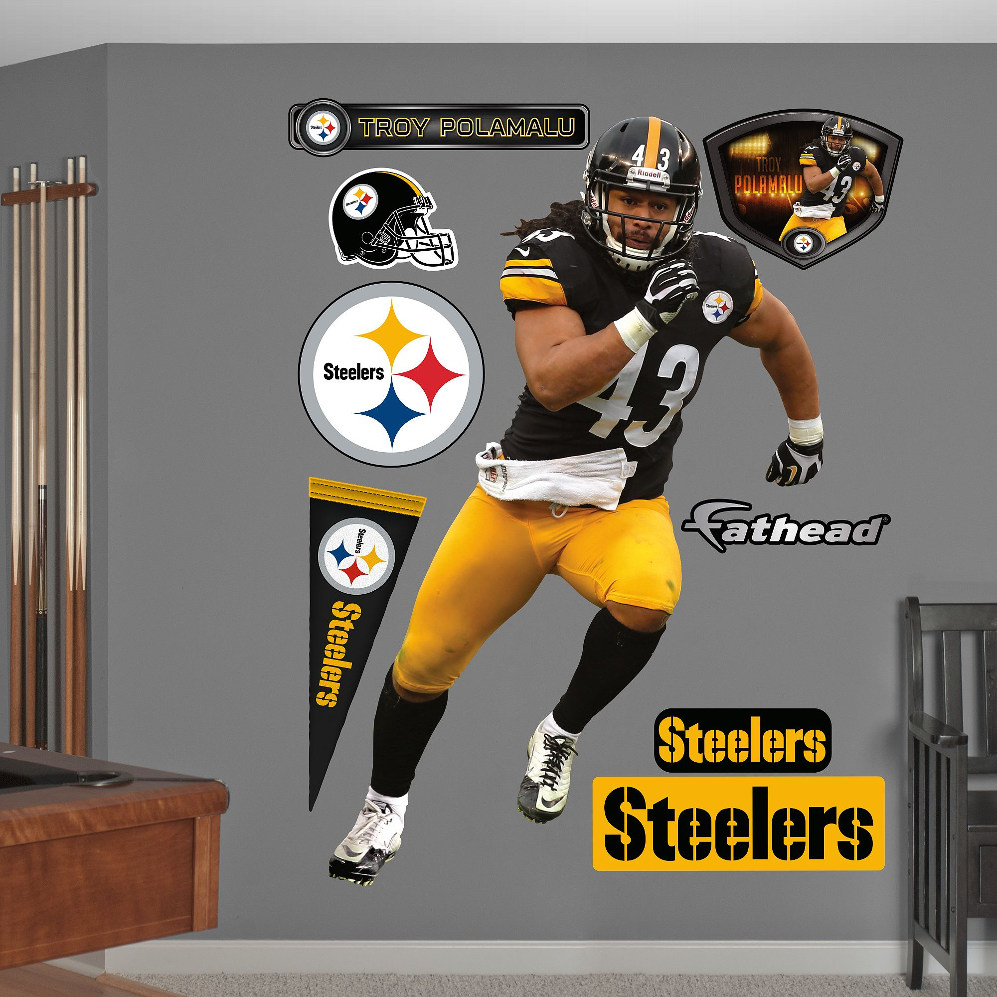 da65baa3 Troy Polamalu - 2012, Pittsburgh Steelers #Steelers | Pittsburgh ...