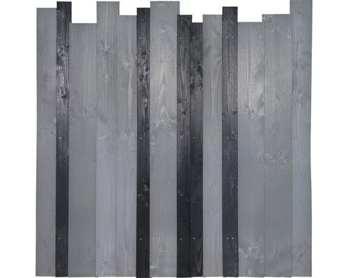 Hauptelement Jenga 180 x 180 cm, anthrazit/grau