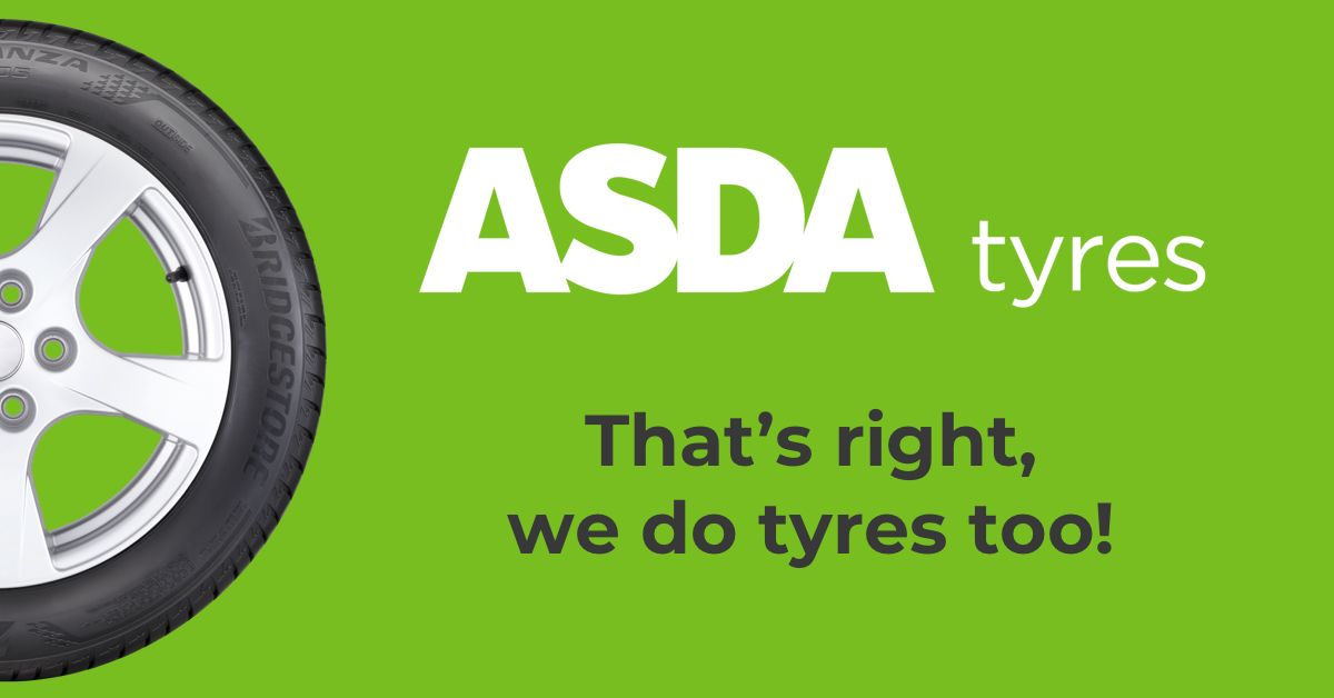 Asda Tyres: Car Tyres Online with Low