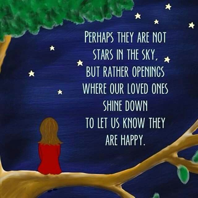 Perhaps They Are Not Stars In The Sky Faith Quotes Heaven