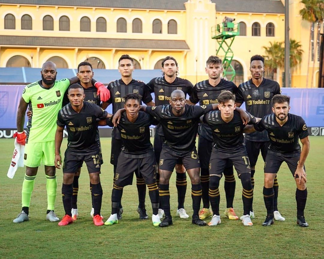 Los Angeles Football Club Lafc Posted On Instagram Starting Xi Presented By Delta And Aero In 2020 Los Angeles Football Club Los Angeles Football Football Club