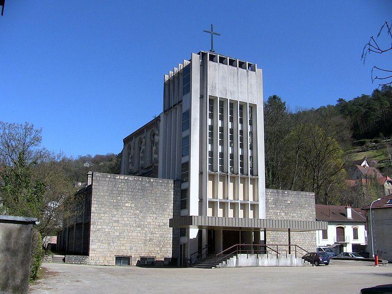 Église Sainte-Jeanne-d'Arc. Besançon. Franche-Comté