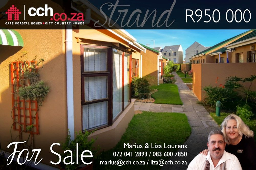 Modern 2 Bedroom Townhouse For Sale In Strand