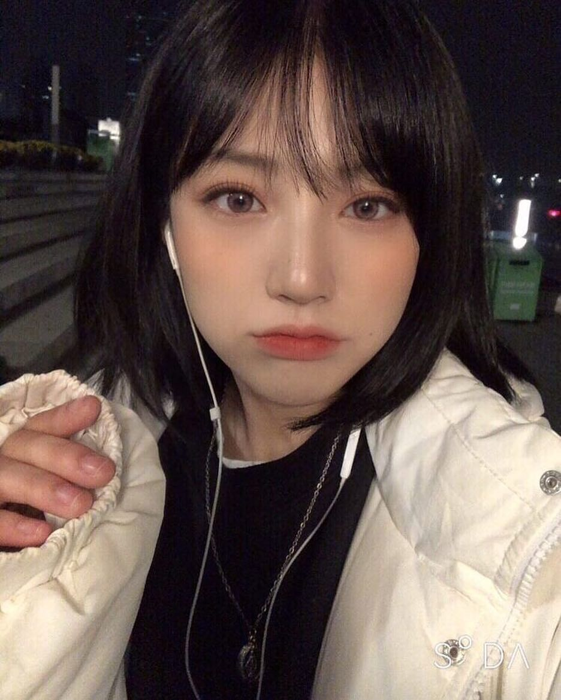 Pin By Amanda Antigua On Yonheekim In 2020 Ulzzang Short Hair Girl Short Hair Korean Short Hair