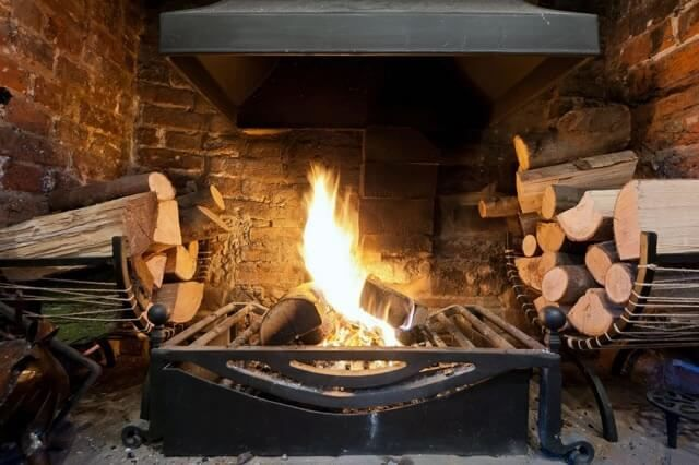 Wooden Open Fires Custom Fireplace Open Fires Open Fireplace