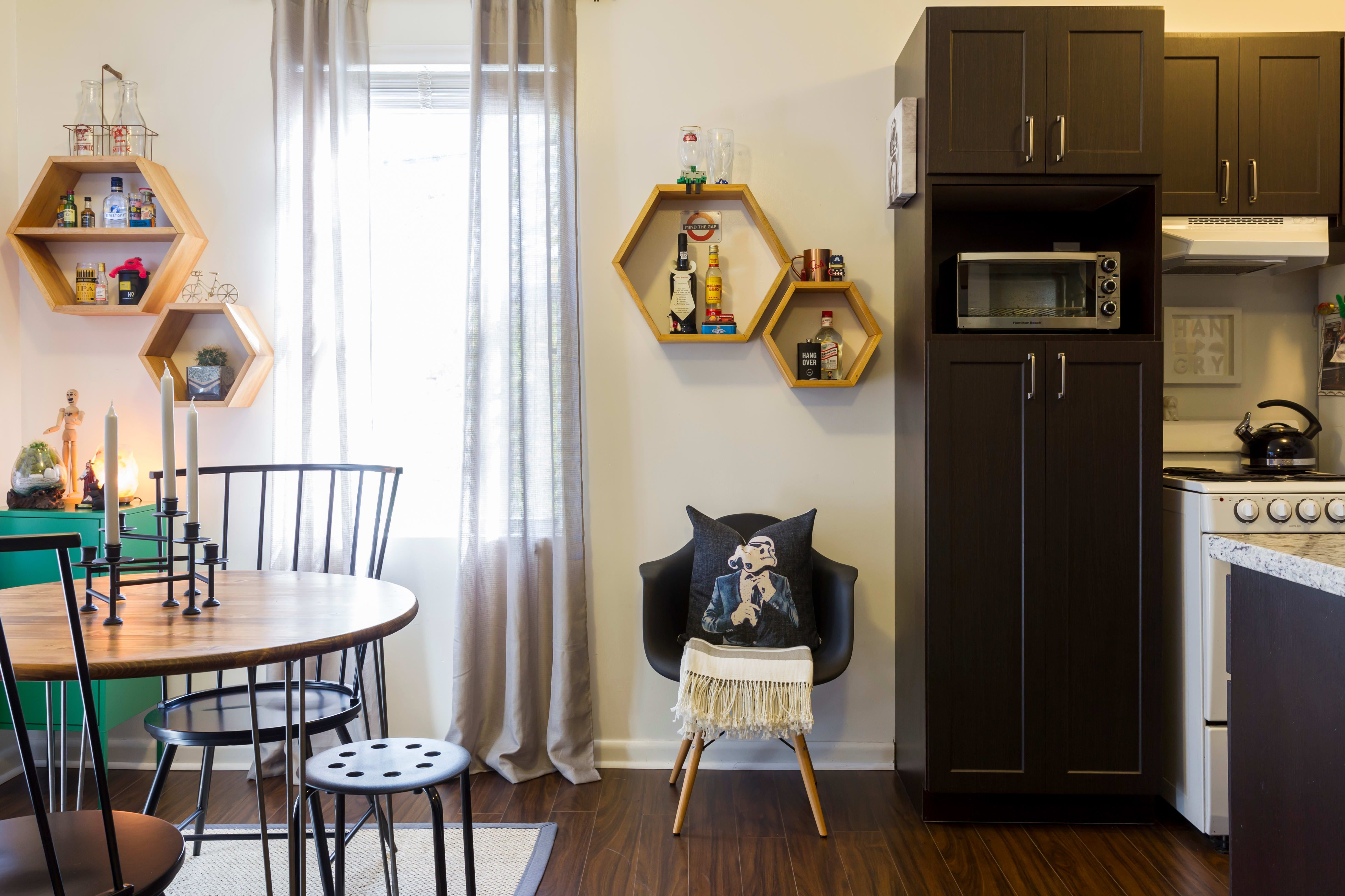 A Tiny But Well Designed 365 Square Foot Miami Studio Interior Design Studio Interior Design Small Living