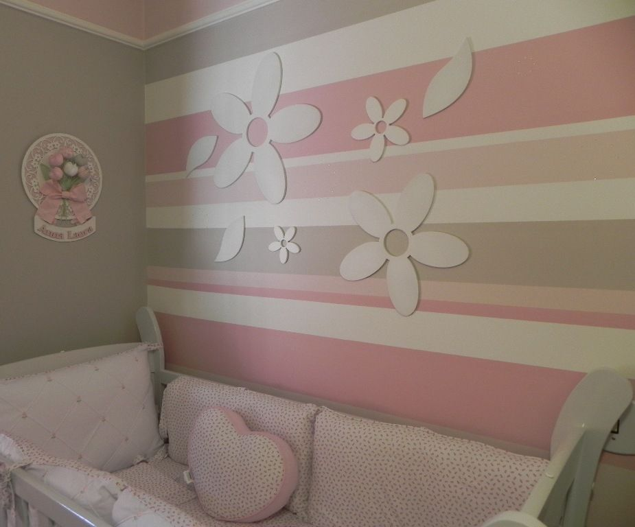 Pin de tania stivalet en recamar s ni as cuartos de bebe for Decoracion para habitacion de bebe nina