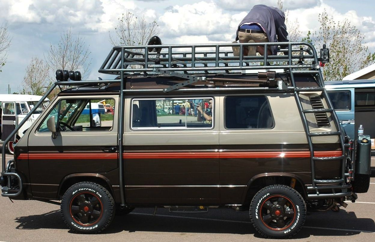 T3 Westfalia Vanagon Camper With A Cool Side Canopy Vw Bus
