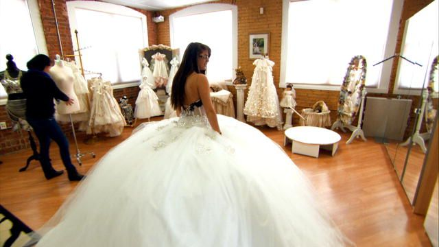 wedding dress my big fat american gypsy