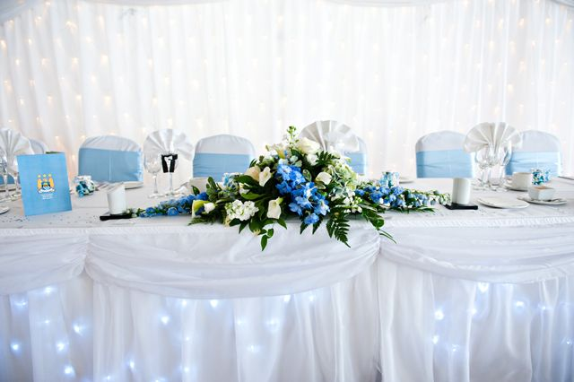 A brilliant white star curtain backdrop looks beautiful with the sky ...