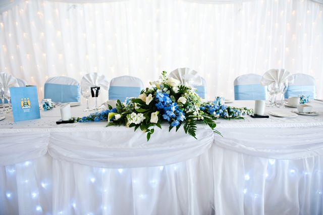 Sky Blue Wedding Theme | Midway Media