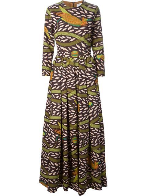Stella Jean Printed Dress - Luisa World - Farfetch.com