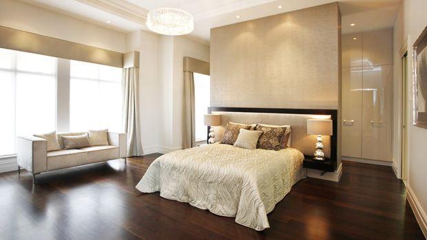 Best Closet Behind Headboard Wall Wall Behind Bed Bedroom 640 x 480