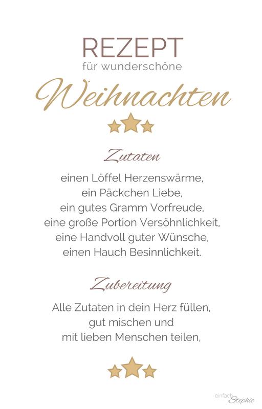 Whatsapp Weihnachtsgrüße zum gratis Download ⋆ einfach Stephie #weihnachtssprücheschöne