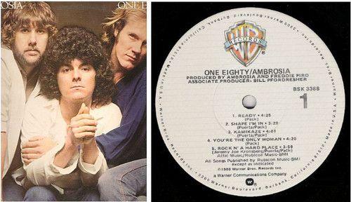 Ambrosia / One Eighty / 1980 / Warner Bros. BSK-3368 / with Inner Sleeve / Vinyl ($8.00)